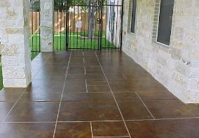 Click on the Photo to see more concrete flooring styles